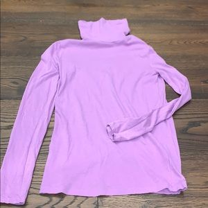 J. Crew Sweaters - J Crew | Purple Lightweight Turtleneck
